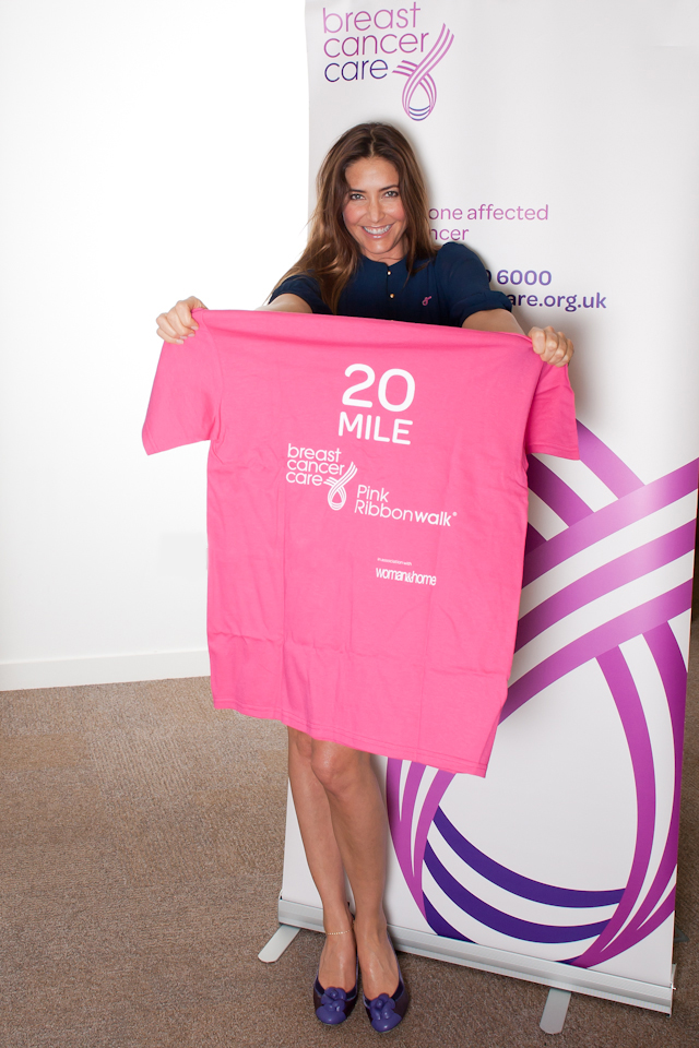 Breast Cancer Care thanking event with Lisa Snowdon